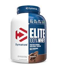 Dymatize <b>Elite 100</b>% <b>Whey Protein</b> Supplement Powder, Pre and ...