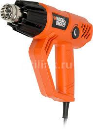 Купить Технический фен <b>BLACK</b> & <b>DECKER KX2001</b>-QS в ...