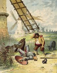 Resultado de imagen de Parar un gran meteorito como el Quijote a los molinos