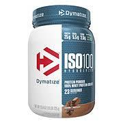 Dymatize <b>ISO100 Hydrolyzed 100</b>% Whey Protein Isolate Chocolate ...