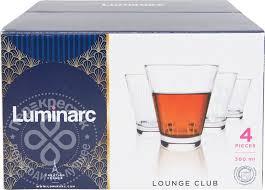 Купить <b>Набор стаканов Luminarc</b> Lounge Club 4шт*300мл с ...