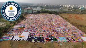 Largest <b>Crochet</b> Blanket - Guinness World Records - YouTube