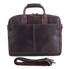 Amazon.com: Texbo <b>Genuine Full</b> Grain <b>Leather Men's</b> 16 Inch ...