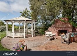 garden furniture patio uamp:  garden design with backyard patio stock photos images uamp pictures shutterstock with backyard landscape