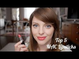 Top 5 <b>MAC</b> Lipsticks | Estée Lalonde - YouTube