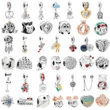 Special Mickey Train Love Crown Dreamcatcher Charms Beads Fit ...