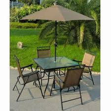 patio table and 6 chairs:   piece patio set