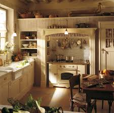 French Country Kitchen Faucet Kitchen Design French Country Kitchem Design With Brick Wall And