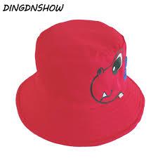 [<b>DINGDNSHOW</b>] <b>2019 Brand</b> Bucket <b>Hat</b> Kids Cotton Print Boy ...