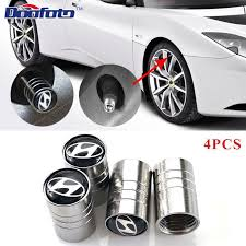 Doofoto <b>4pcs Car</b> Styling Metal <b>Car Wheel Tire</b> Valves Tyre Stem Air ...