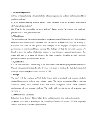 High performance management Research proposal   Performance