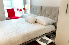 in gallery unravel the bed by tucking away the home office at night design for space bed in office