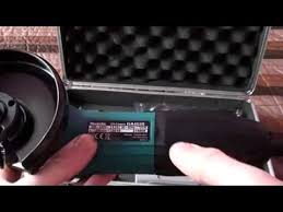 Угловая <b>шлифовальная машина Makita GA4530</b> - YouTube
