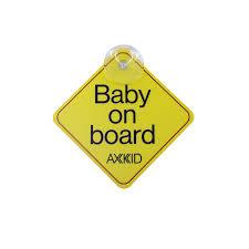 <b>Baby on board</b> sign - Rear-facing <b>car</b> seat from Axkid | Axkid <b>Car</b> Seats