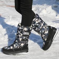 Special Price For new <b>fashion men winter boots snow boots</b> warm ...