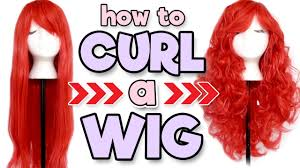 HOW TO CURL A WIG | Alexa's Wig Series #8 - YouTube