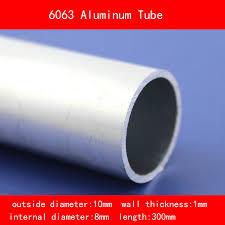 <b>external diameter</b> 10mm <b>internal diameter</b> 8mm wall thickness 1mm ...