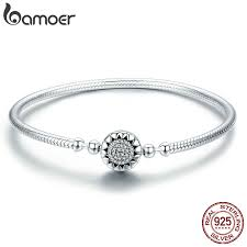 BAMOER <b>2018</b> New <b>Authentic 925</b> Sterling Silver Bright Heart AAA ...
