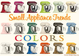 Colored Kitchen Appliances Small Appliance Trends Spicing Up Kitchens With Color Style