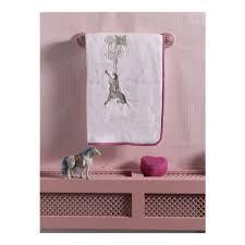 <b>Плед KIDBOO Little</b> Farmer велсофт, 80*120 см, белый/розовый ...