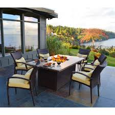 elegant patio table sets