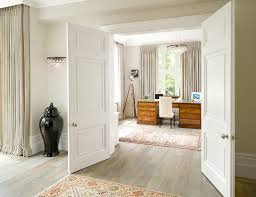 white washed hardwood home office victorian with natural light white baseboards natural lighting home office