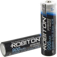 14500/900 (<b>AA</b>), <b>Аккумулятор</b> Li-ion, 900mAh, 3.7V, с защитой ...