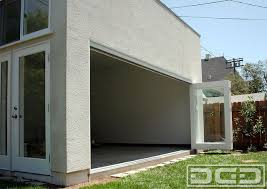 bi folding doors custom made for a garage converted to home office located in bi fold doors home office