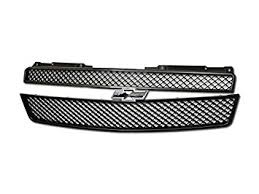 Velocity Racing <b>Matte Black</b> Finished Front Grille <b>Luxury</b> Mesh Style