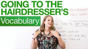 Speaking English - Going to <b>the hairdresser</b> - YouTube