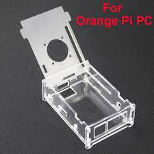 Прозрачный акриловый чехол для оранжевого ПК <b>Pi</b> ...