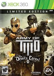 Army of Two: The Devil's Cartel RGH + DLC Español Xbox 360 [Mega+] Xbox Ps3 Pc Xbox360 Wii Nintendo Mac Linux