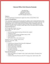 general resumes samples template general resume example