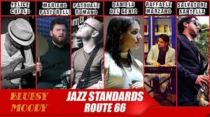 Jazz Standards - Route 66 (Bluesy Moody Cover) - YouTube