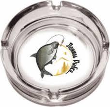 """<b>Пепельница ОСЗ Круглая</b> """"<b>Рыбалка</b>"""", диаметр 10,6 см — купить в ..."""