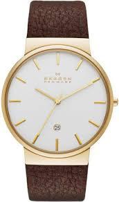 <b>Skagen</b> Leather <b>SKW6142</b> - купить <b>часы</b> по цене 14250 рублей ...