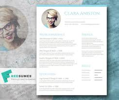 Resume template in classical style happytom co