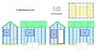 floor plan   Tiny Free HouseUpdated Design   Windows