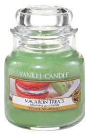 <b>Ароматическая свеча Macaron Treats</b> Yankee Candle купить, цена ...