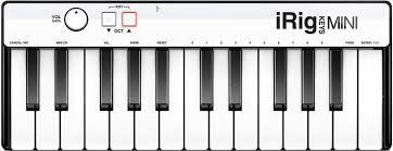 Купить <b>mIDI</b>-<b>клавиатура IK Multimedia</b> iRig Keys MINI (Black) в ...