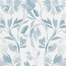 Small Picture Designers Guild Patanzzi Wallpaper in Slate Blue