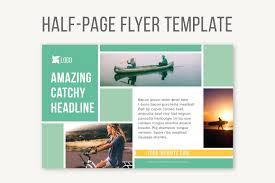 powerpoint flyer template photos graphics fonts themes half page flyer template