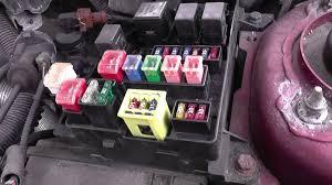 volvo s40 fuse relay box location video