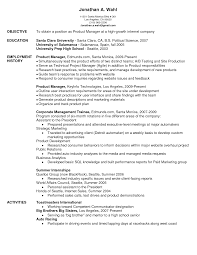 product manager resume sample job and resume template google product manager resume sample