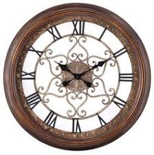 the audrey decorative wall clock has very intricate details and measures 245 blank wall clock frei