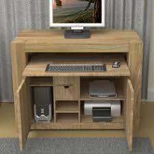 baumhaus atlas chunky oak hidden home office hideaway atlas chunky oak hidden home office