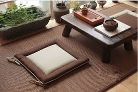 4pcs lot japanese legless chair seat cushion asian traditional furniture living room floor seating tatami zaisu wholesale