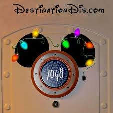 Free printable custom Christmas ear magnet for your Disney cruise ...