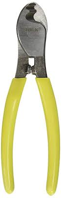 <b>Yellow Green Handle Wire</b> Cable Cutting Plier Cutter Stripper ...