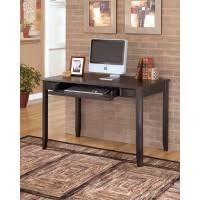 carlyle black home office small leg desk baybrin rustic brown home office small